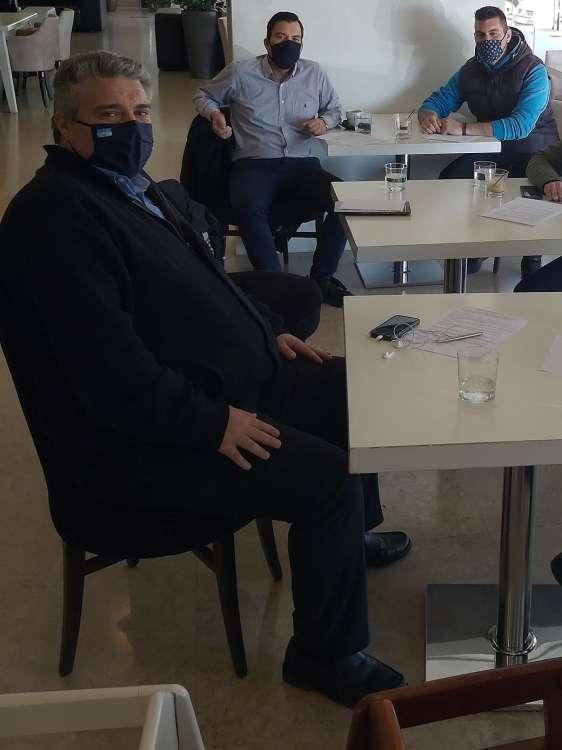 ΔΤ 25/02/21 Μίλτου Χρυσομάλλη - Συνάντηση με το σωματείο ξενοδοχοϋπαλλήλων νομού Μεσσηνίας