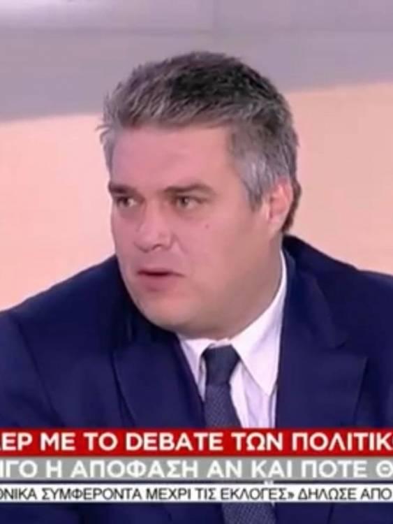 """Μίλτος Χρυσομάλλης στο ΣΚΑΪ στην εκπομπή """"Σήμερα"""""""