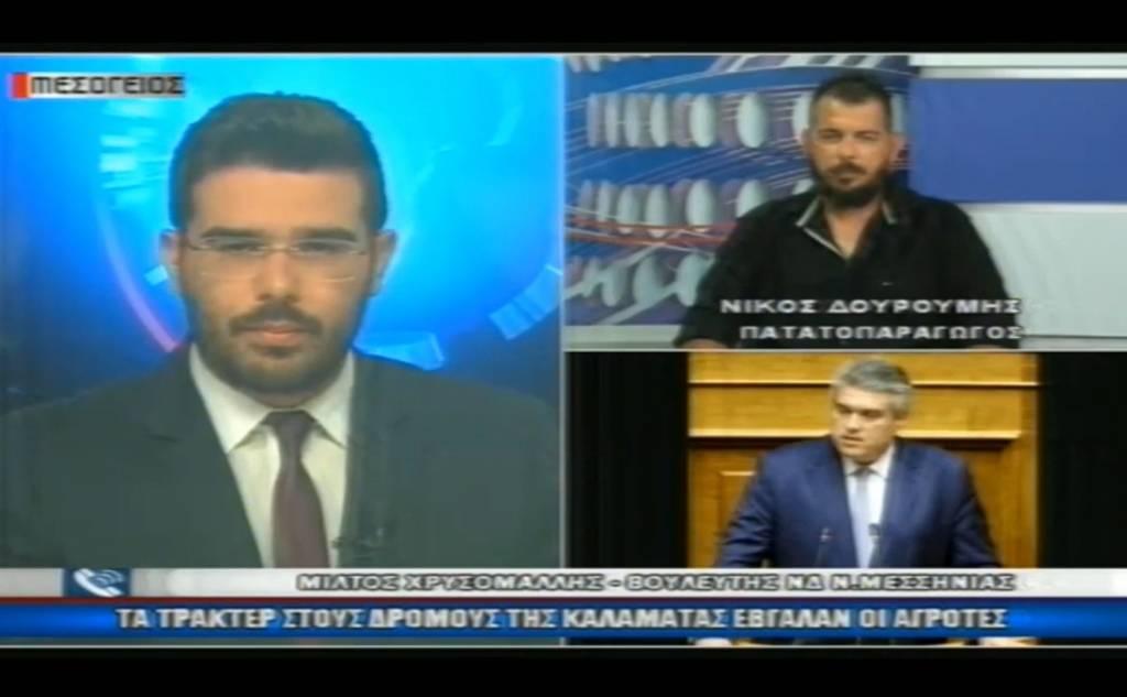 Μίλτος Χρυσομάλλης στο Κεντρικό Δελτίο Ειδήσεων στο Κανάλι Μεσόγειος 02/06/2020