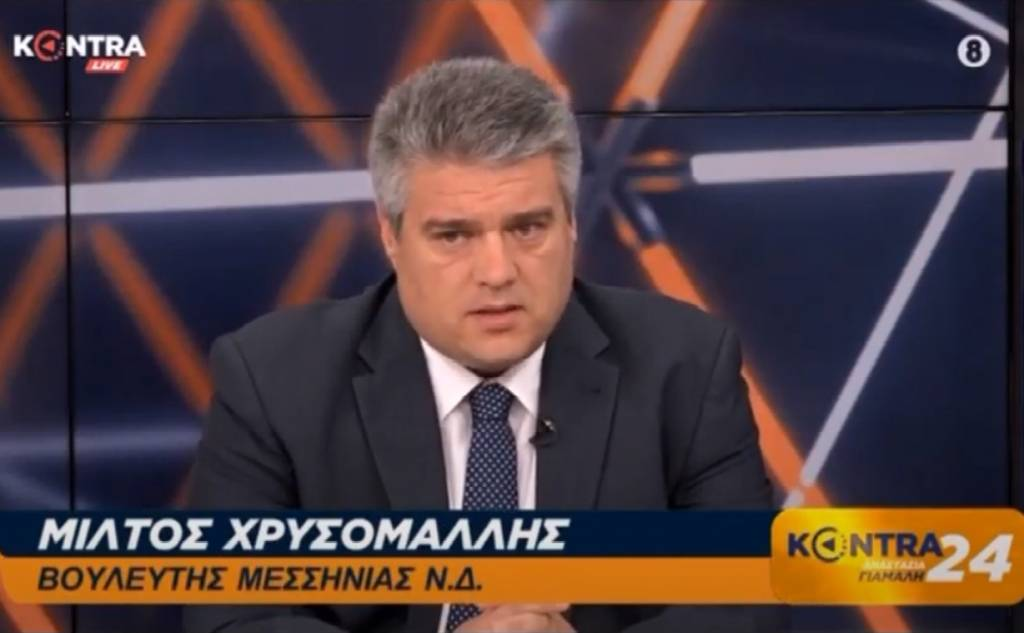 Μίλτος Χρυσομάλλης στην εκπομπή KONTRA24 με την Αναστασία Γιάμαλη 30/06/2020
