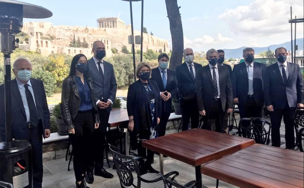Δ.Τ. 29/10/2020 Μίλτου Χρυσομάλλη - Συνάντηση με τον Υπουργό Περιφερειακής Συνεργασίας του Ισραήλ κ. Οφίρ Ακούνις (Ofir Akunis)