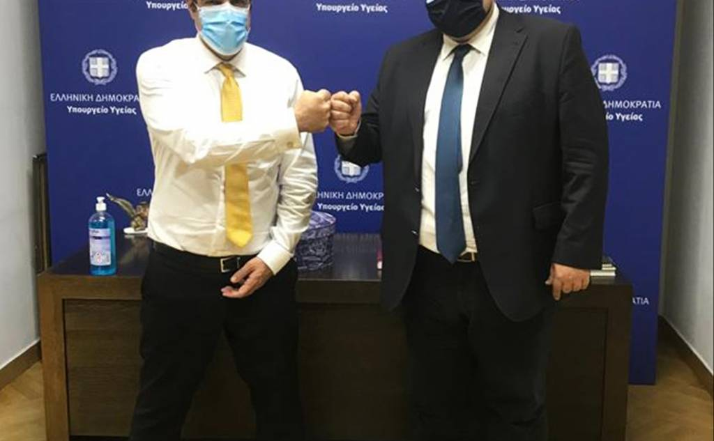 ΔΤ  20/10/2021 Μίλτου Χρυσομάλλη - Χρυσομάλλης σε Πλεύρη για εντατικολόγο στο νοσοκομείο Καλαμάτας και για τα υγειονομικά ζητήματα της Μεσσηνίας