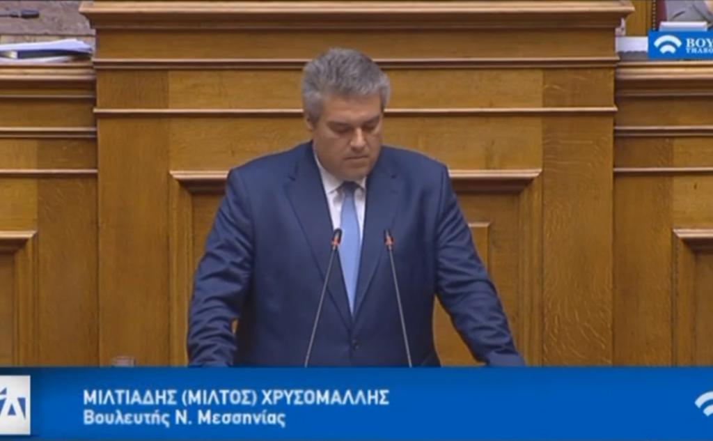 Πρώτη Ομιλία στην Ολομέλεια της Βουλής