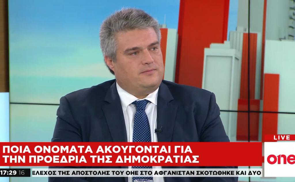 Αντιπαράθεση για την εκλογή ΠτΔ Μ.Χρυσομάλλης και Κ.Ζαχαριάδης στο One Channel