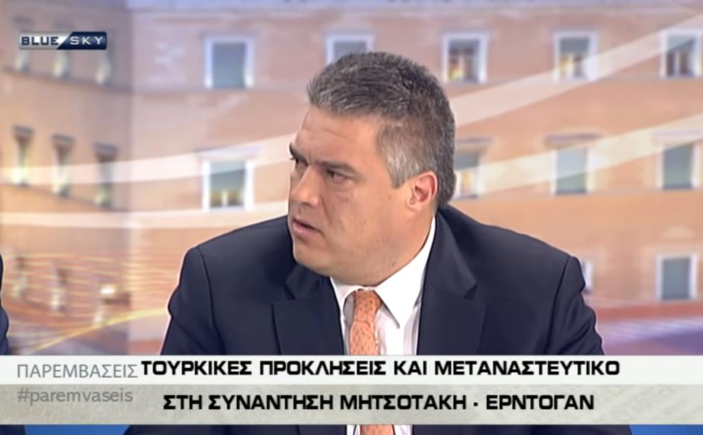 Μίλτος Χρυσομάλλης στην εκπομπή ΠΑΡΕΜΒΑΣΕΙΣ 03/12/19