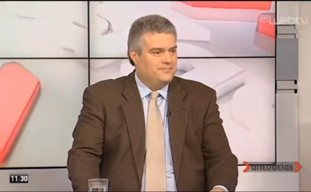 """Μίλτος Χρυσομάλλης στην εκπομπή """"Απευθείας"""" στην ΕΡΤ1"""