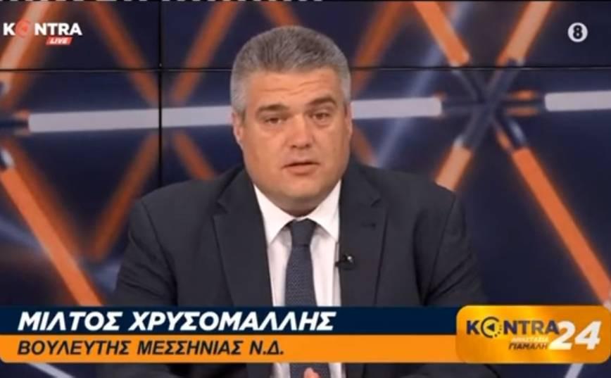 Μίλτος Χρυσομάλλης στην εκπομπή KONTRA24 με την Αναστασία Γιάμαλη 15/07/2020